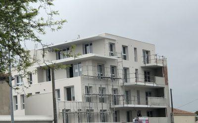 Avancée d'un chantier à La Rochelle – livraison octobre 2019